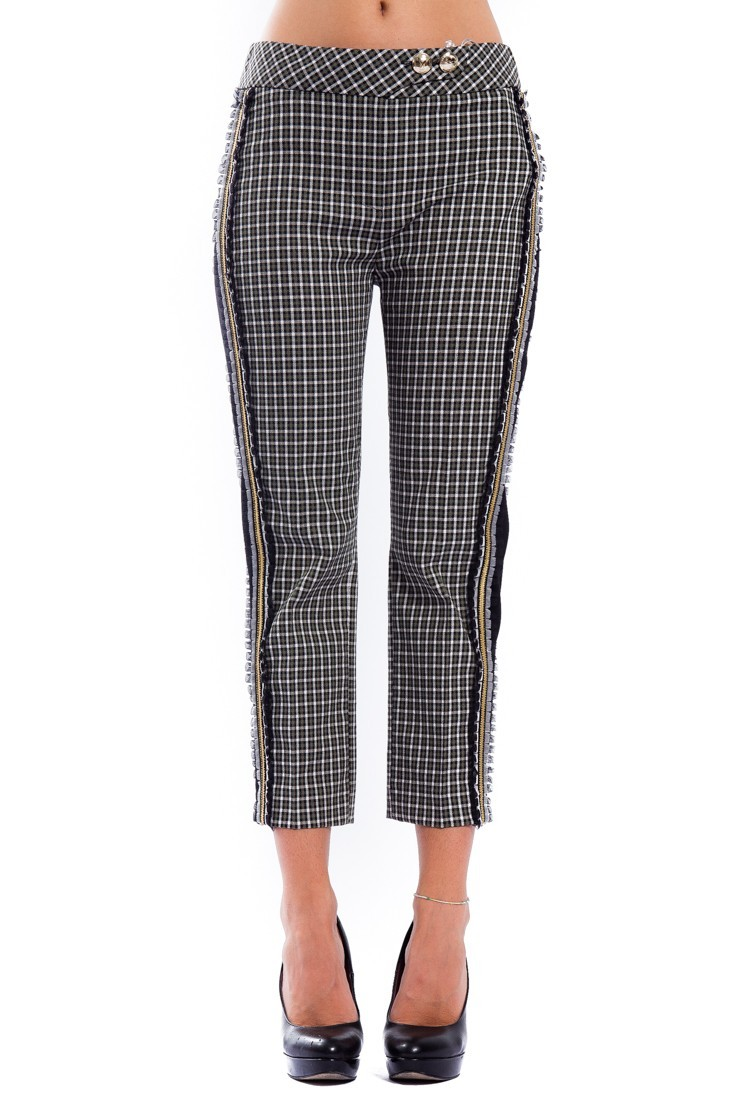British Tweed trousers PATRIZIA PEPE 8p0167 a4d5