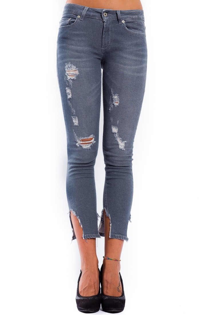 Monroe Denim ripped pants DONDUP p692 ds0197 t61c