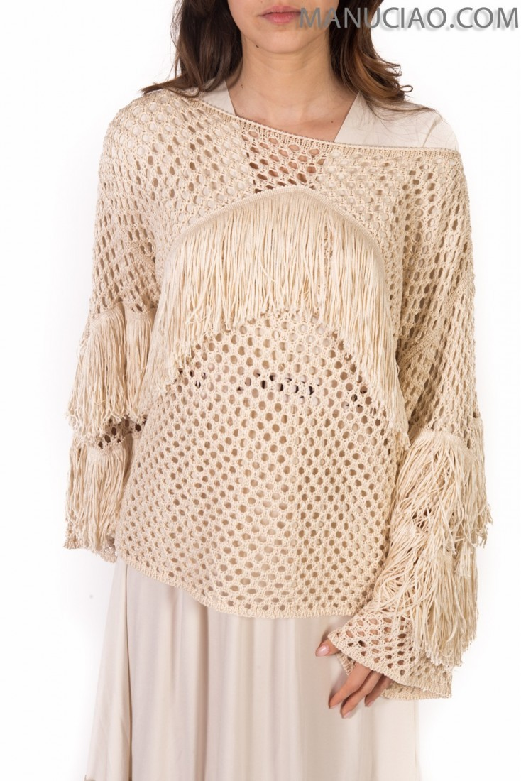 Fringed sweater ANIYE BY p9 8 185827 carol