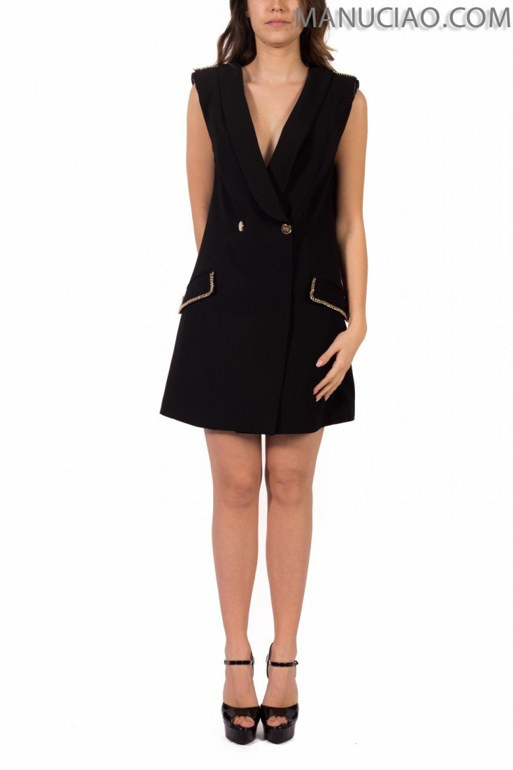 Black dress ELISABETTA FRANCHI ab81792e2