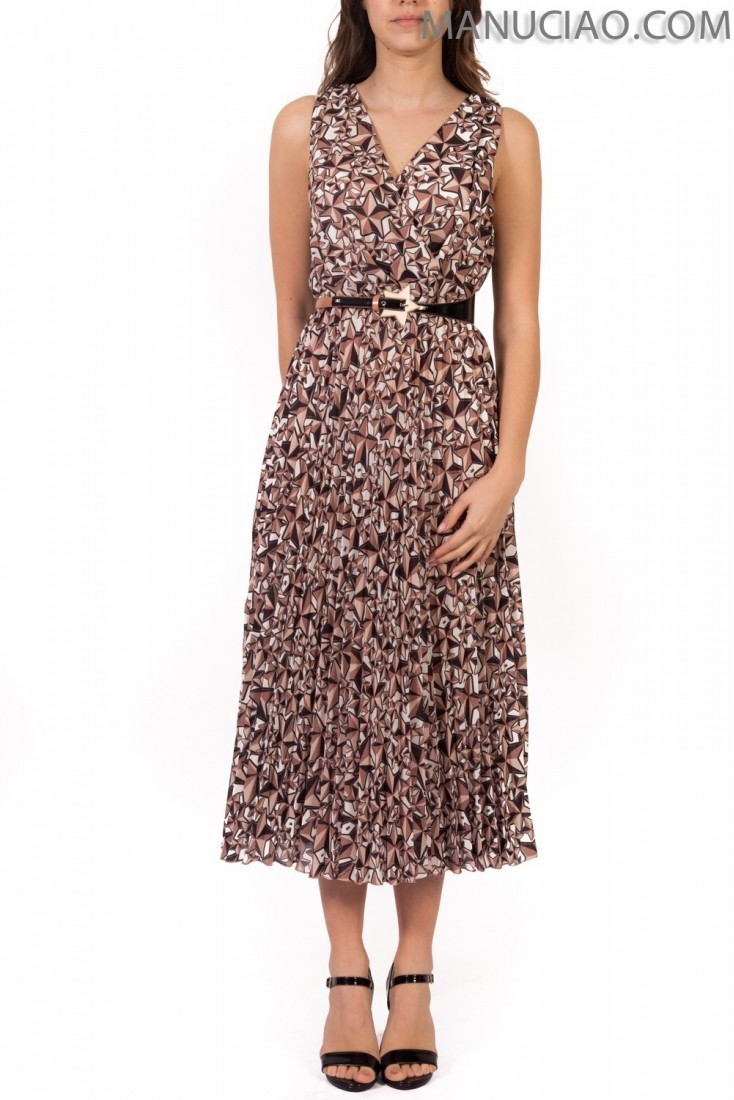 Dress with belt ELISABETTA FRANCHI ab68791e2