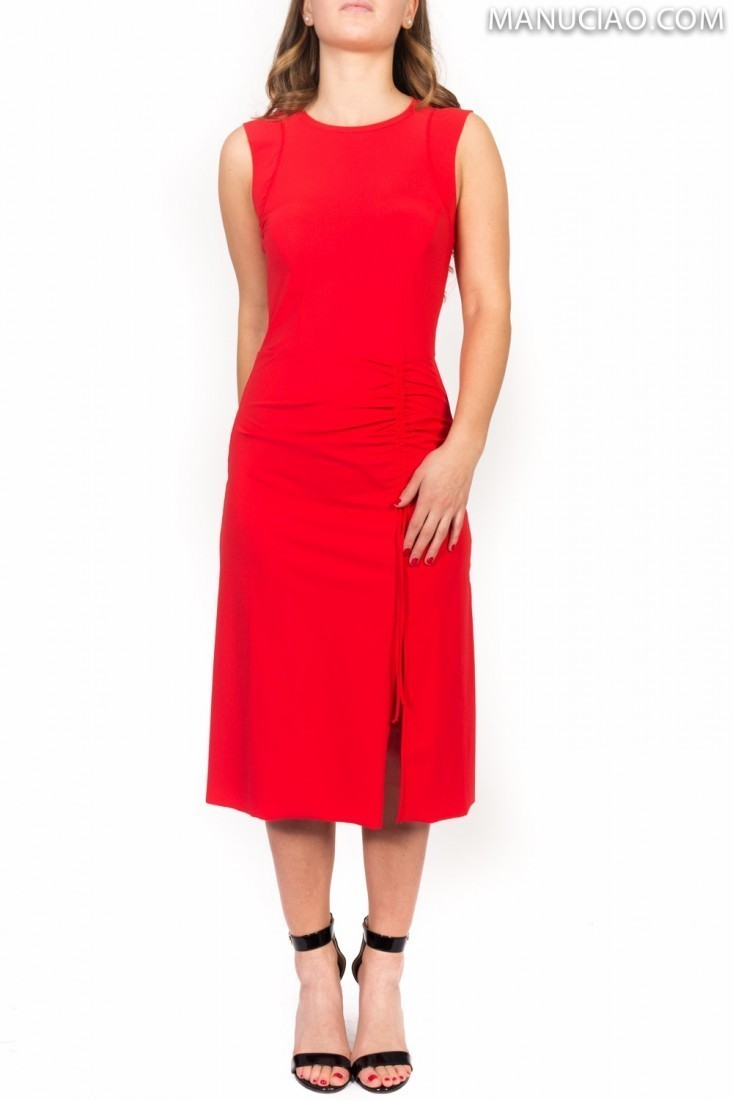 Sleeveless Dress Red PATRIZIA PEPE 2a1930 az26