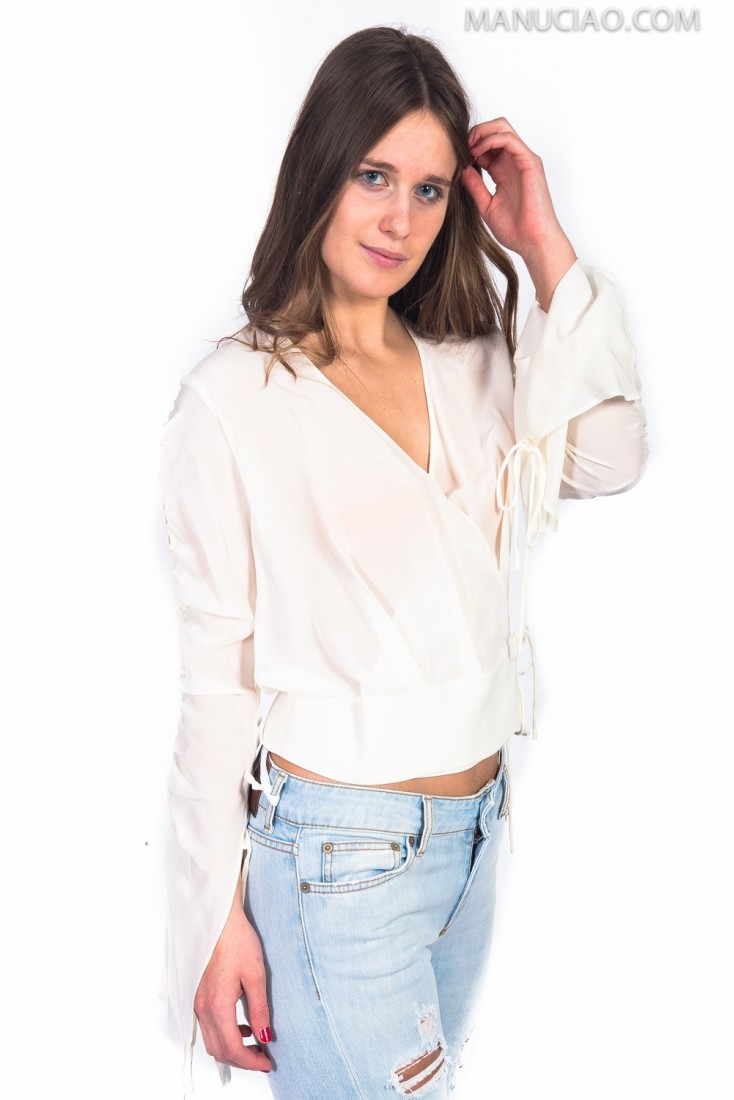 Blusa Incrociata PINKO vincenza
