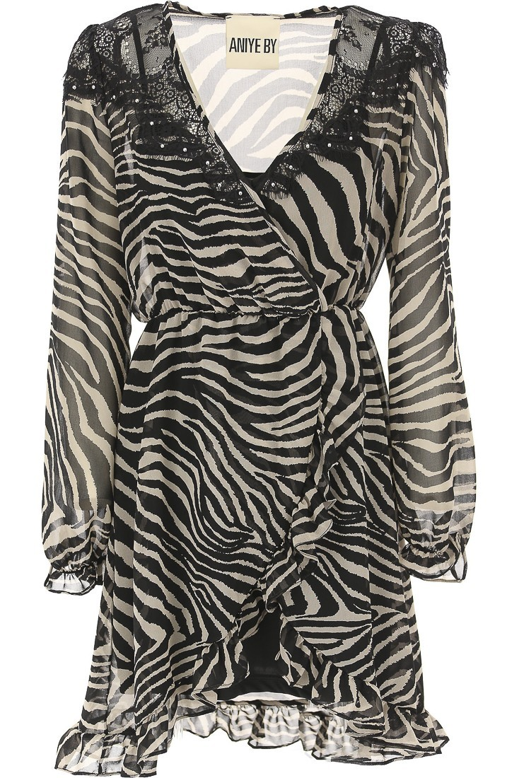 Wrap Dress Dallas ANIYE BY 181021 zebra
