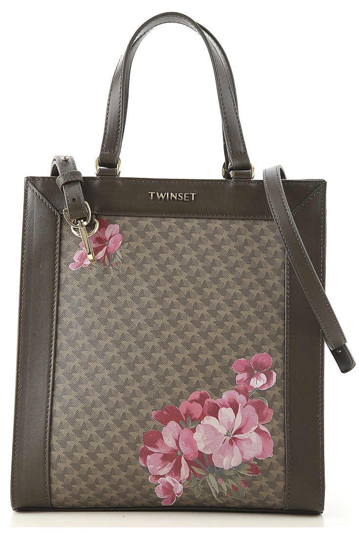 Printed bagTWINSET 192ta7010 military green