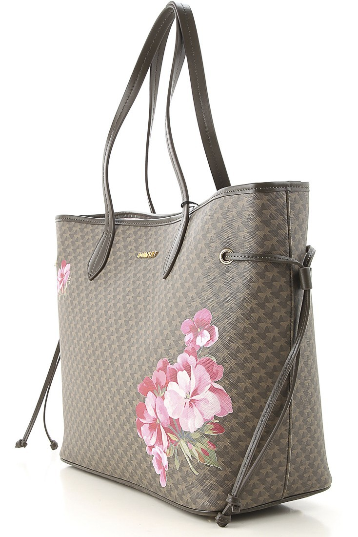 Shopping bag with clutch TWINSET 192ta7017 military green