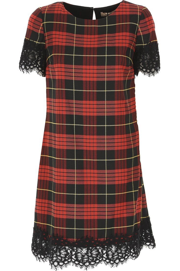 Tartan dress TWINSET 192tp2621