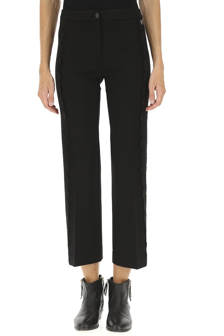Black Trousers TWINSET 192tt2210
