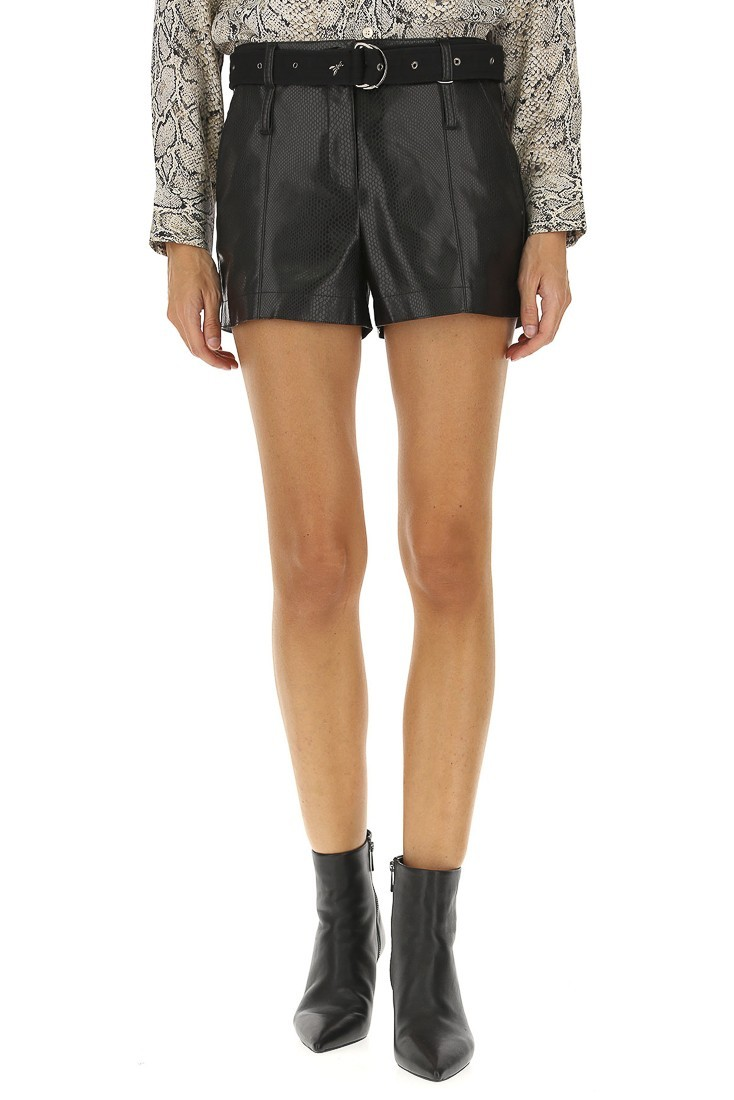 Synthetic leather Shorts PATRIZIA PEPE 8l0321 a5h3