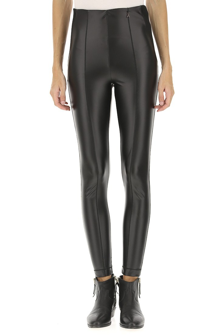 Synthetic leather pants PATRIZIA PEPE 8l0337 a1wb