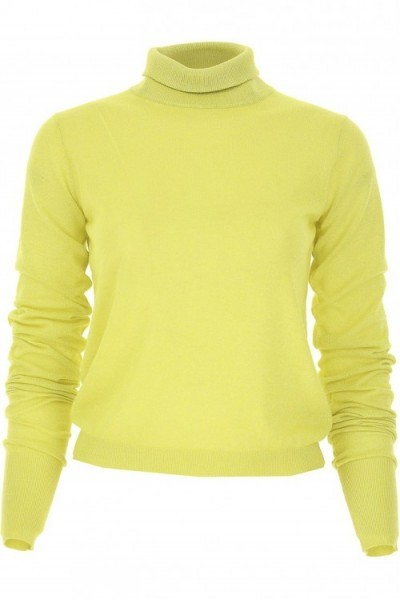 Yellow turtleneck sweater PATRIZIA PEPE 8m0857 a5f6