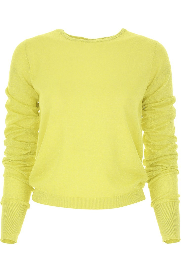 Yellow lurex sweater PATRIZIA PEPE 8m0859 a5f6