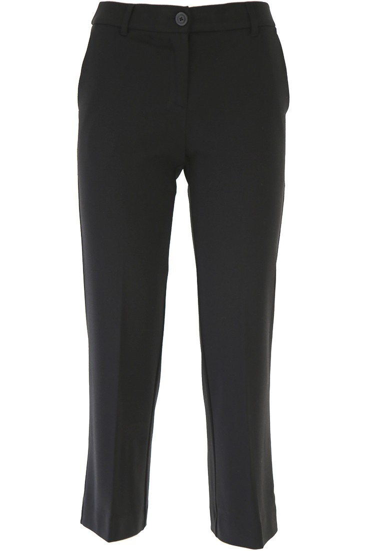 Flare black trousers TWINSET 192tp2092
