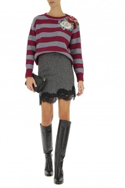 Striped sweater TWINSET 192tp3351