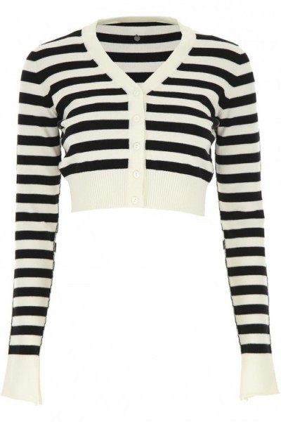 Striped Cropped Cardigan TWINSET 192tp3092