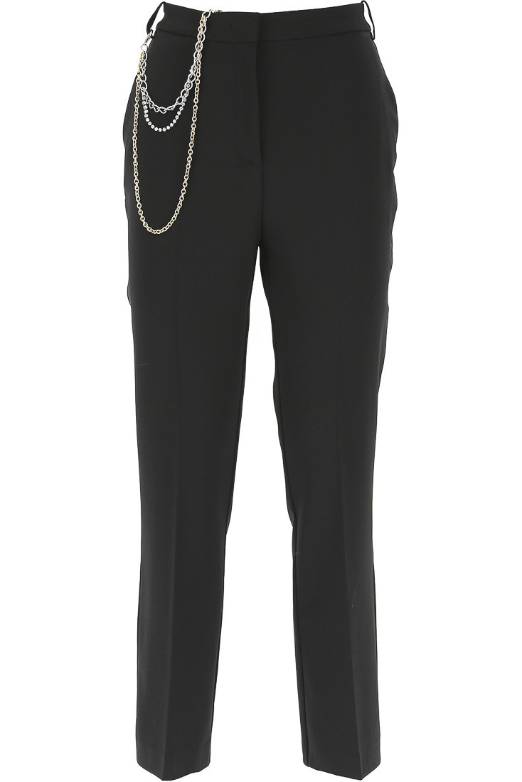 Trousers with chains PINKO mr brown