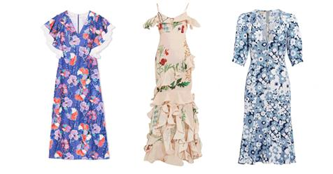 33 Floral Dresses to Hoard This Spring - ELLE.COM 2017