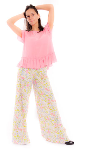 Floral dresses P/E 2018 - Spring Trousers TWINSET ps82pe